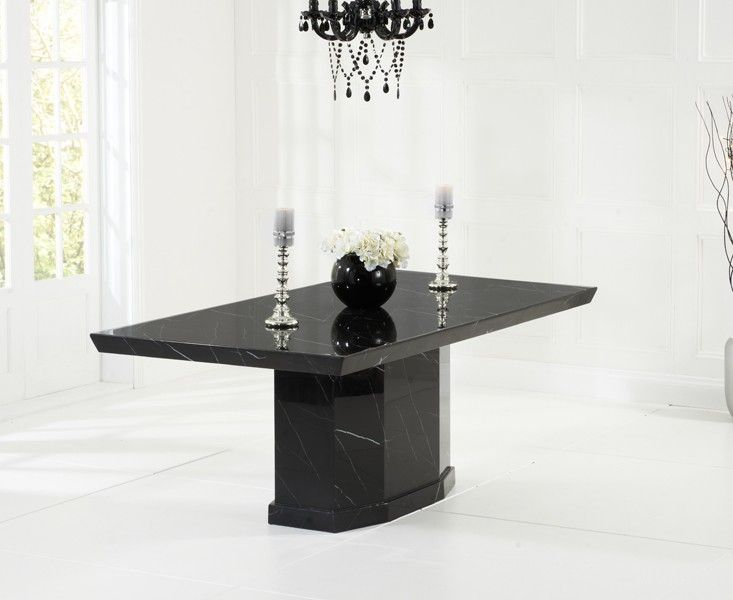 black dining table and six chairs download